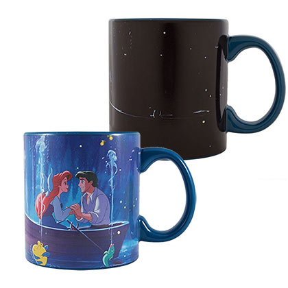 Disney The Little Mermaid Kiss The Girl Color Change 20oz Mug