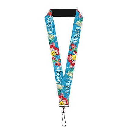 The Little Mermaid Blue Ariel Lanyard