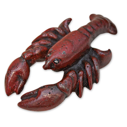 Lobster Distressed Cast Iron Beer Bottle Opener