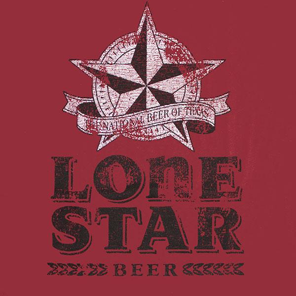 0410f926 Lone Star Beer Vintage Men's Shirt