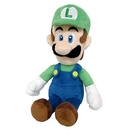 Super Mario Bros. Luigi 10 Inch Plush