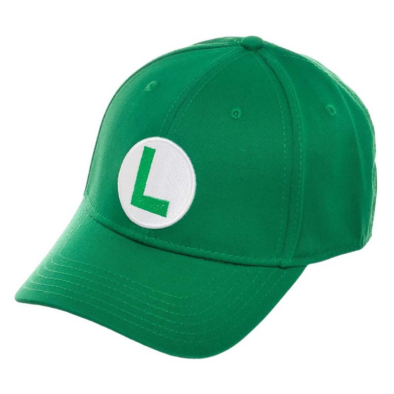 Super Mario Bros. Luigi Flex Fit Green Men's Hat