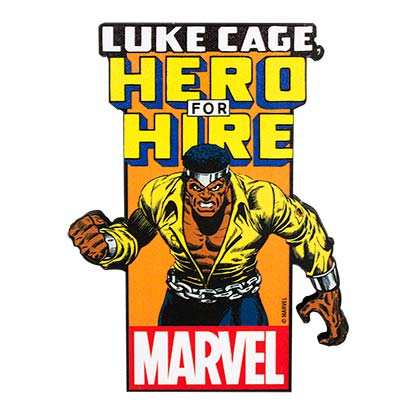 Luke Cage Funky Chunky Magnet