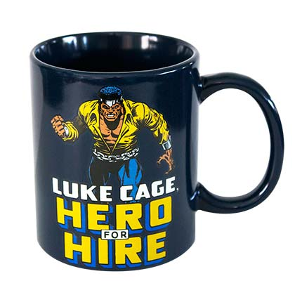 Luke Cage Black Hero For Hire Mug