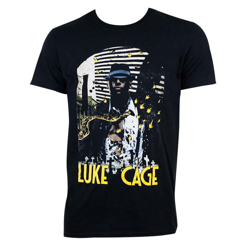 Luke Cage Men's Black Indestructible T-Shirt