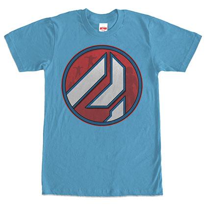 Ant-Man Logo Turquoise Blue T-Shirt