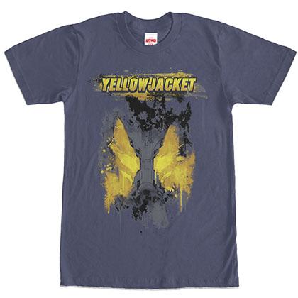 Ant-Man Bug-Eyed Yellowjacket Blue T-Shirt