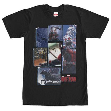 Ant-Man Anthology Black T-Shirt