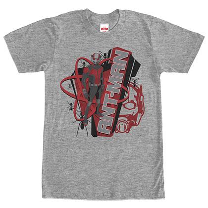 Ant-Man Stance Gray T-Shirt