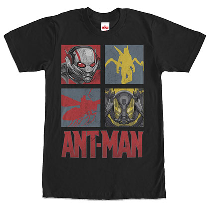 Ant-Man Ant Box Black T-Shirt