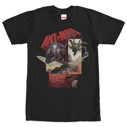 Ant-Man Any Rides Black T-Shirt
