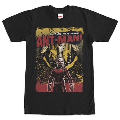 Ant-Man Astonishing Black T-Shirt