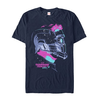 Guardians of the Galaxy Helmet Vol2 Tshirt