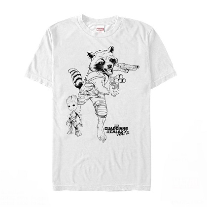 Guardians of the Galaxy Rocket Racoon Tshirt