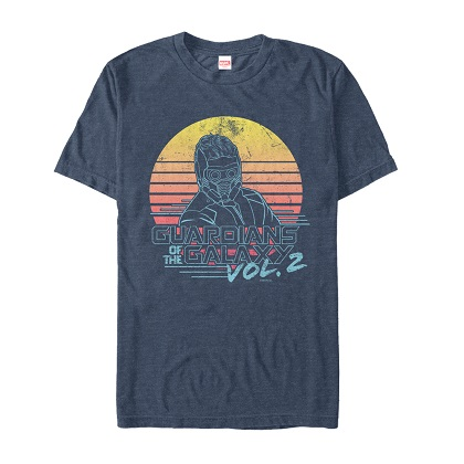 Guardians of the Galaxy Sunset Tshirt