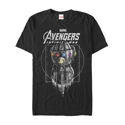 Avengers Infinity War Thanos Logo Tshirt