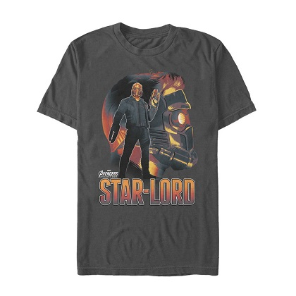 Avengers Infinity War Star Lord Tshirt