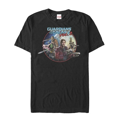 Guardians of the Galaxy Movie Poster Tshirt