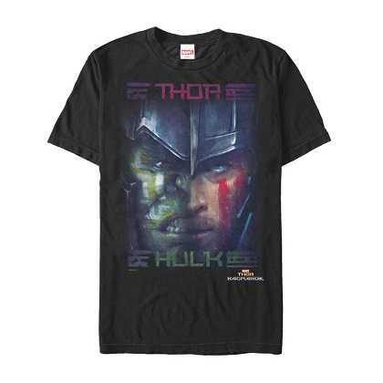 Thor Ragnarok Faces Poster Tshirt