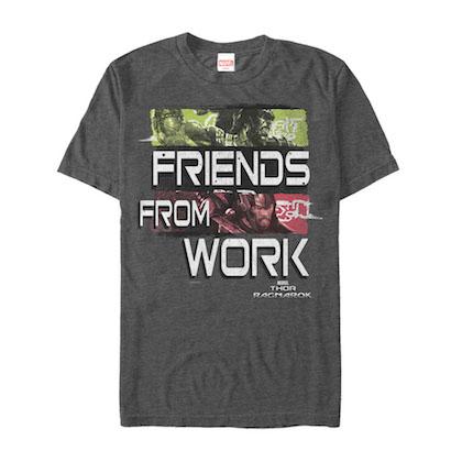 Thor Ragnarok Friends From Work Tshirt