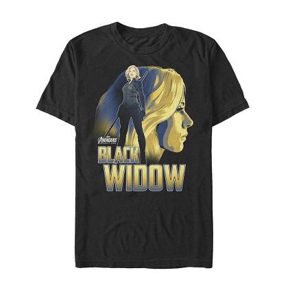 Avengers Infinity War Black Widow Tshirt