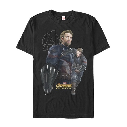 Captain Americas Weapon Black Tshirt