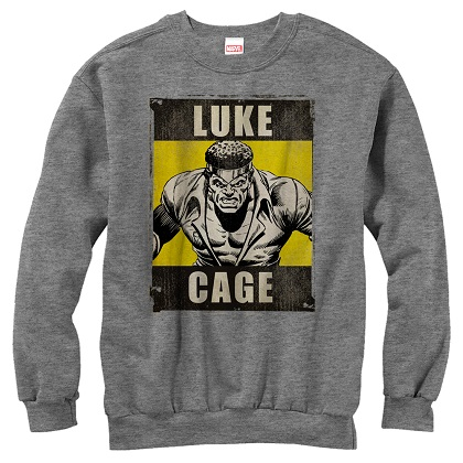 Luke Cage Logo Crewneck Sweatshirt