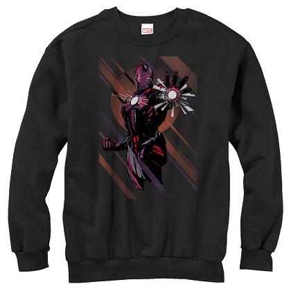 Iron Man Blast Off Crewneck Sweatshirt