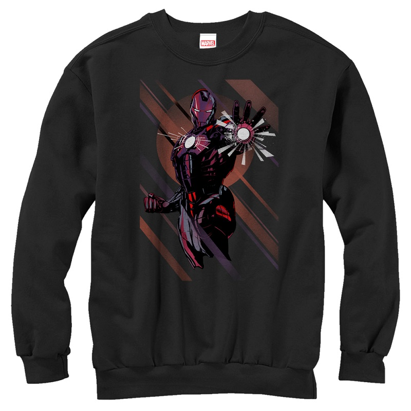Iron Man Blast Off Crewneck Sweatshirt