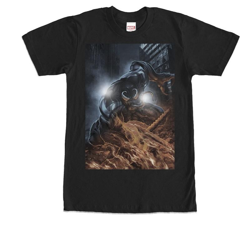 Venom Comic Portrait Tshirt