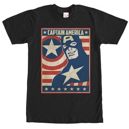 Captain America Poster Tshirt