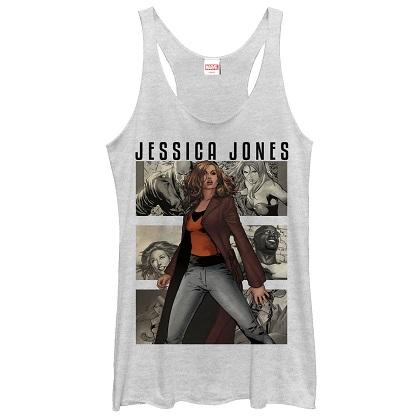 Jessica Jones Women's White Tank Top