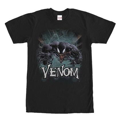 Venom Title Black Tshirt