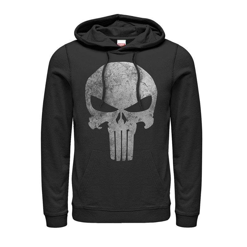 The Punisher Skull Logo Hoodie