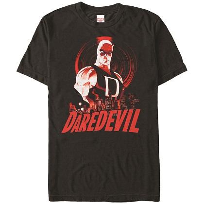 Daredevil Skyline Black Tshirt