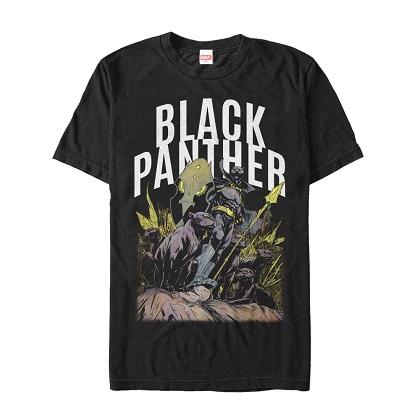 Black Panther Squad Tshirt