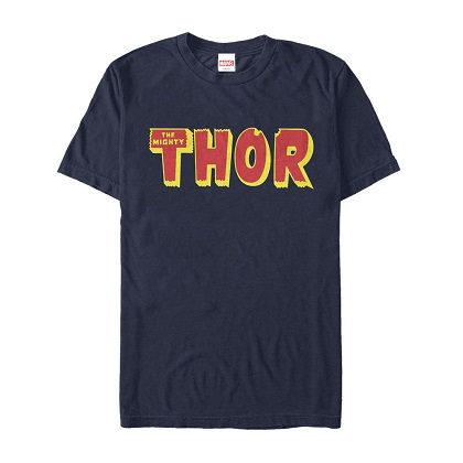 Thor The Mighty Thor Logo Tshirt