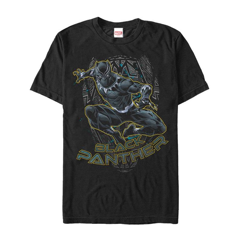 Black Panther Golden Panther Tshirt
