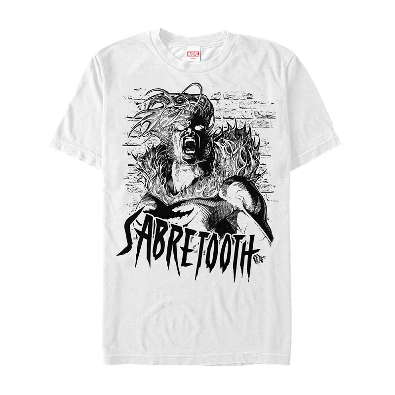 X-Men Sabertooth Scream Tshirt