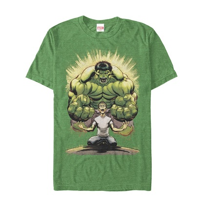 The Hulk Cartoon Transformation Tshirt