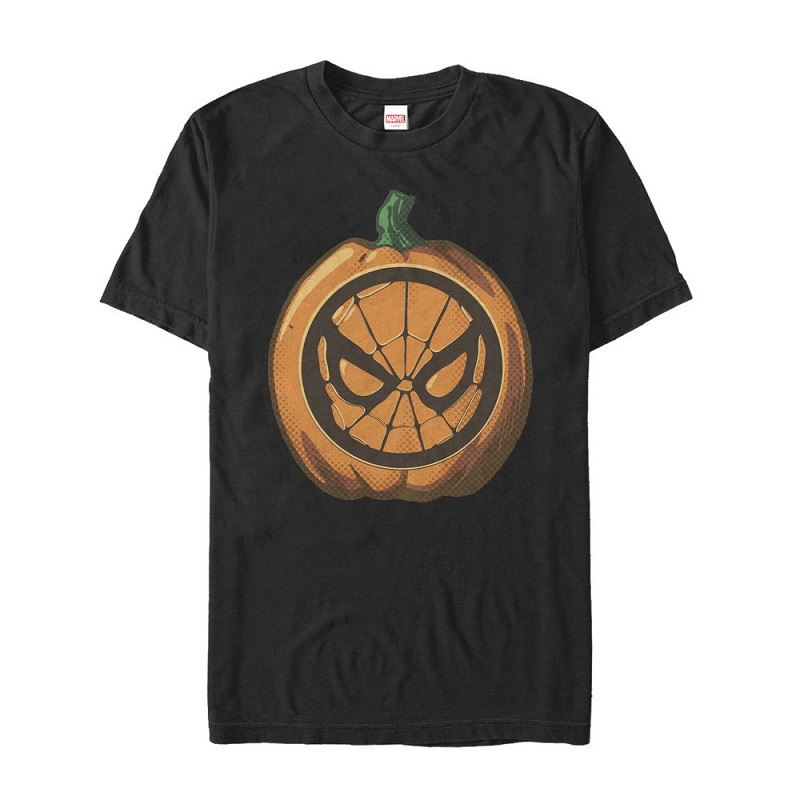 Spiderman Halloween Pumpkin Tshirt
