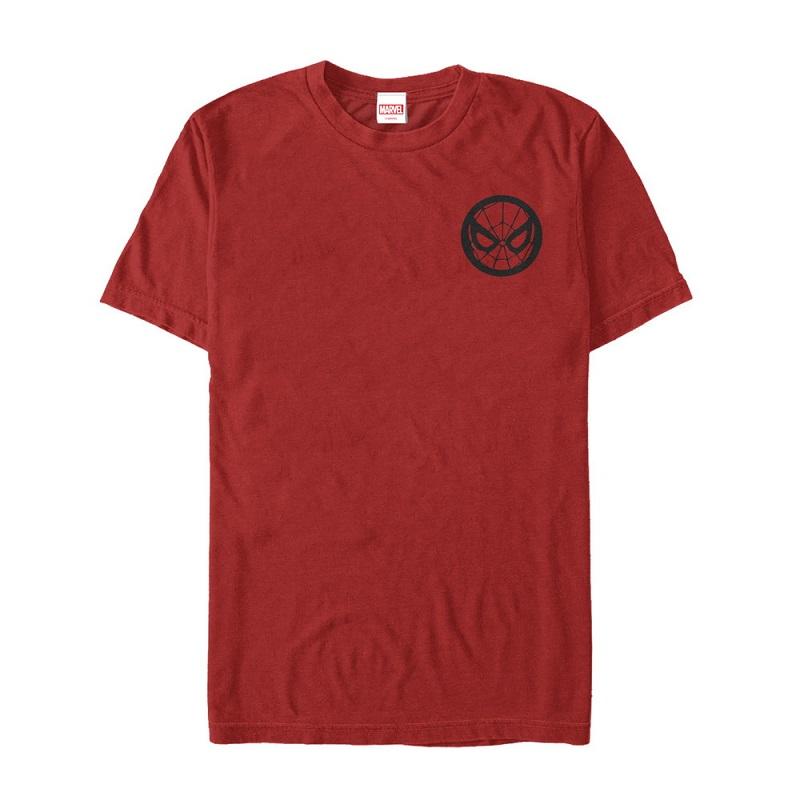 Spiderman Chest Print Logo Tshirt