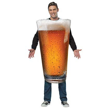 Beer Pint Halloween Costume