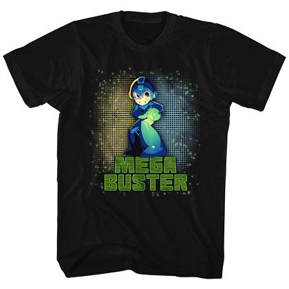 Mega Man Mega Buster Tshirt