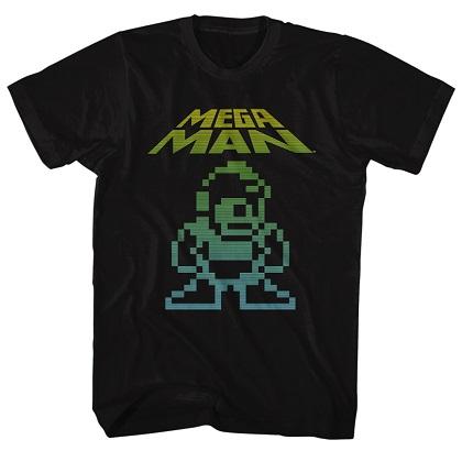 Mega Man Mega Pixel Tshirt