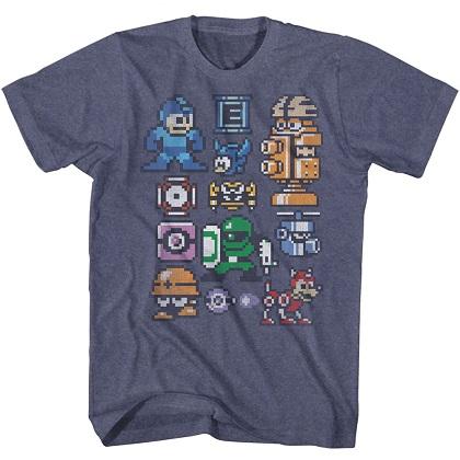 Mega Man Characters Tshirt