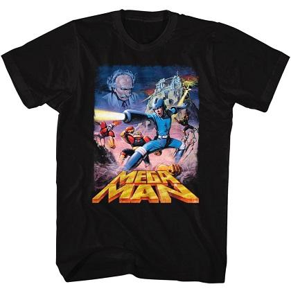 Mega Man Poster Tshirt