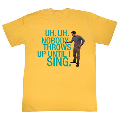 Modern Family No Puking T-Shirt