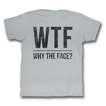 Modern Family The Face, Why T-Shirt