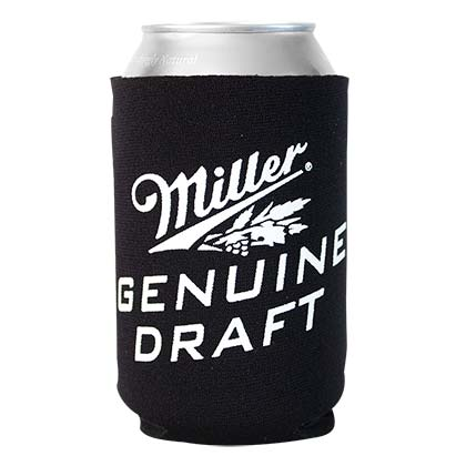 Miller Genuine Draft Foam Can Cooler
